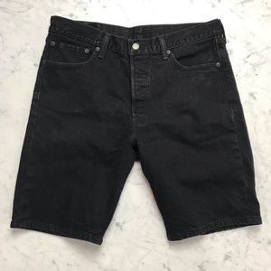 Levi Strauss & Co. Levi's 501 Black Jean Shorts